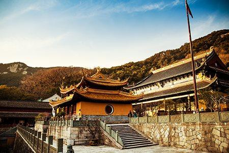 【拜地藏 结佛缘】南京九华山 99米地藏菩萨露天圣像祈福2飞4日