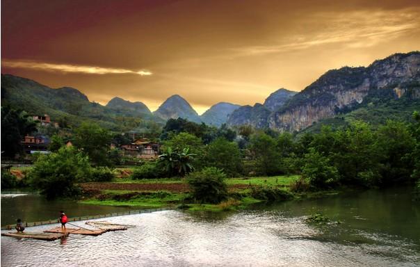 广南坝美风景区